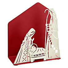 Buy John Lewis Metal Nativity Scene Tealight holder Online at johnlewis.com
