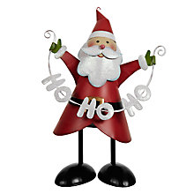 Buy John Lewis Ho Ho Ho Father Christmas Decoration Online at johnlewis.com