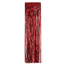 Buy John Lewis Lametta, Red Online at johnlewis.com