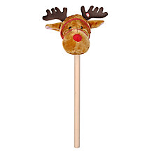 Buy John Lewis Musical Reindeer Hobby Horse Online at johnlewis.com