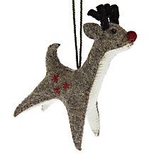 Buy Scandi-chic Hanging Reindeer Online at johnlewis.com