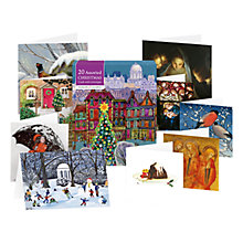 Buy Museums & Galleries Assortment of Christmas Cards, Box of 20 Online at johnlewis.com
