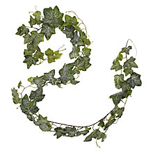 Buy John Lewis Croft Collection Frosted Ivy Garland, 6ft Online at johnlewis.com