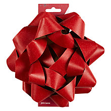Buy John Lewis Giant Paper Bow, Red Online at johnlewis.com