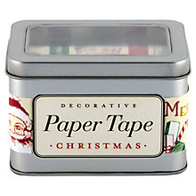 Buy Cavallini Vintage Christmas Paper Tape Online at johnlewis.com