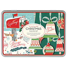 Buy Cavallini Vintage Christmas Mail Set Online at johnlewis.com