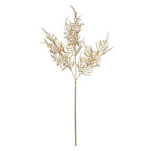 Buy John Lewis Croft Collection Asparagus Decoration, Gold Online at johnlewis.com