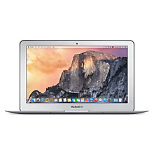 "Buy Apple MacBook Air, MJVM2B/A, Intel Core i5, 128GB Flash Storage, 4GB RAM, 11.6"" Online at johnlewis.com"