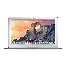 "Buy Apple MacBook Air, MD712B/B, Intel Core i5, 256GB Flash Storage, 4GB RAM, 11.6"" Online at johnlewis.com"