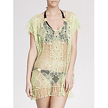 Buy Seafolly Butterfly Kyoto Kaftan, One Size, Lime Online at johnlewis.com