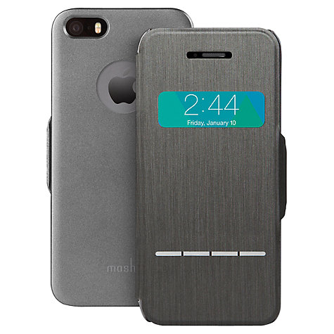 Buy Moshi SenseCover, Touch Sensitive Flip Case for iPhone 5 & 5s Online at johnlewis.com