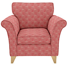 Buy John Lewis Charlotte Armchair, Freya Coastal Red Online at johnlewis.com