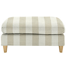 Buy John Lewis Bailey Loose Cover Footstool Online at johnlewis.com