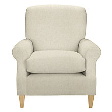 Buy John Lewis Dorset Armchair, Darwen Natural Online at johnlewis.com