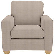 Buy John Lewis Gino Armchair, Bala Putty Online at johnlewis.com