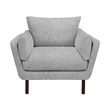 Buy John Lewis Loki Armchair, Arden Blue Grey Online at johnlewis.com