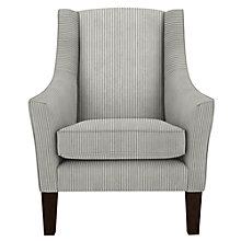 Buy John Lewis Mario Armchair, Bacall Charcoal Online at johnlewis.com
