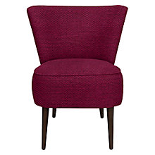 Buy John Lewis Twiggy Chair, Brescia Fuchsia Online at johnlewis.com