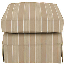 Buy John Lewis Padstow Fixed Cover Footstool, Thelma Putty Online at johnlewis.com