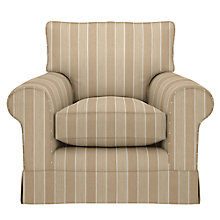 Buy John Lewis Padstow Fixed Cover Armchair, Thelma Putty Online at johnlewis.com