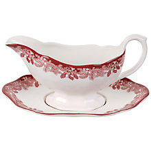 Buy Spode Winter's Scene Sauceboat Set Online at johnlewis.com