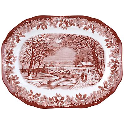 Spode Winter's Scene Serving Platter