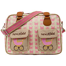 Buy Pink Lining Mama Et Bebe Changing Bag, Pink Butterflies Online at johnlewis.com