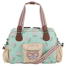 Buy Pink Lining Yummy Mummy 'Flutter By' Changing Bag, Mint Online at johnlewis.com