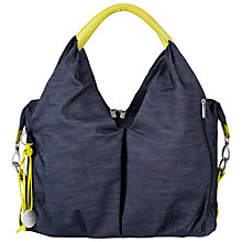 Buy Laessig Neckline Changing Bag, Denim Online at johnlewis.com