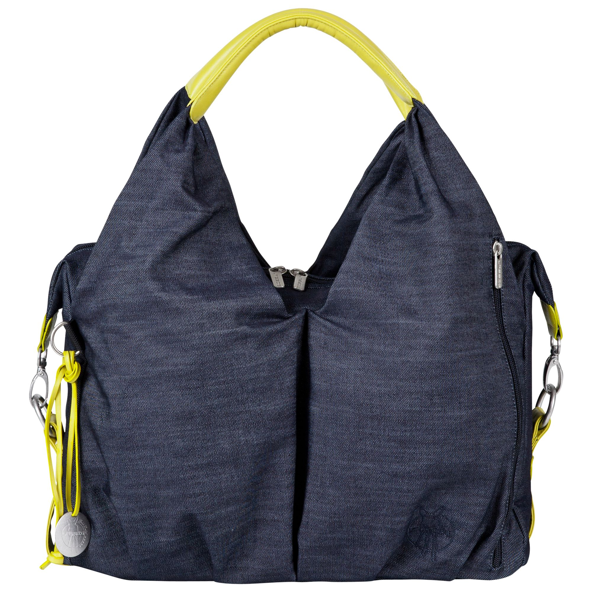 Laessig Laessig Neckline Changing Bag, Denim