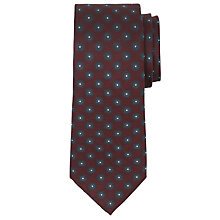 Buy Richard James Mayfair Flower Pattern Silk Tie Online at johnlewis.com