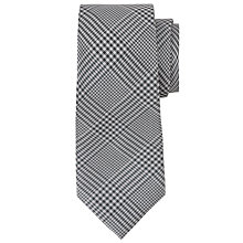 Buy Richard James Mayfair Prince of Wales Check Grey Tie, Charcoal Online at johnlewis.com