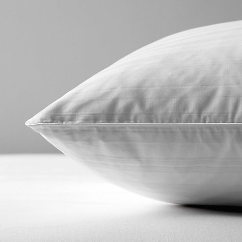 Buy John Lewis Superior Siberian Goose Feather & Down Square Pillow, Medium/Firm Online at johnlewis.com