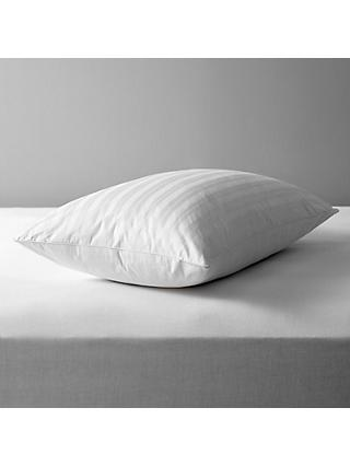 John Lewis & Partners Natural Collection Siberian Goose Feather and Down Standard Pillow, Medium