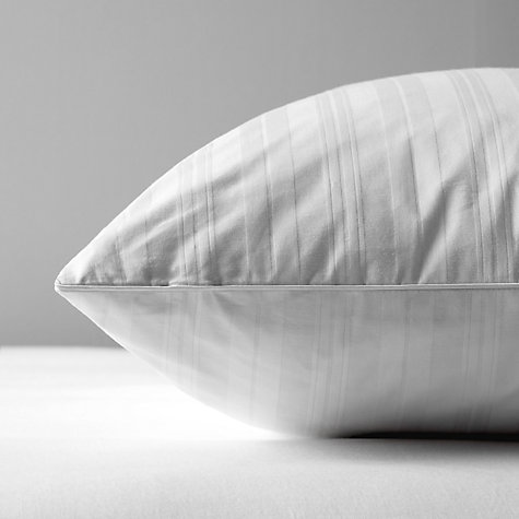 Buy John Lewis Superior Siberian Goose Feather & Down Standard Pillow, Medium/Firm Online at johnlewis.com