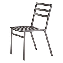 Buy Barlow Tyrie Piazza Outdoor Dining Chair, Graphite Online at johnlewis.com