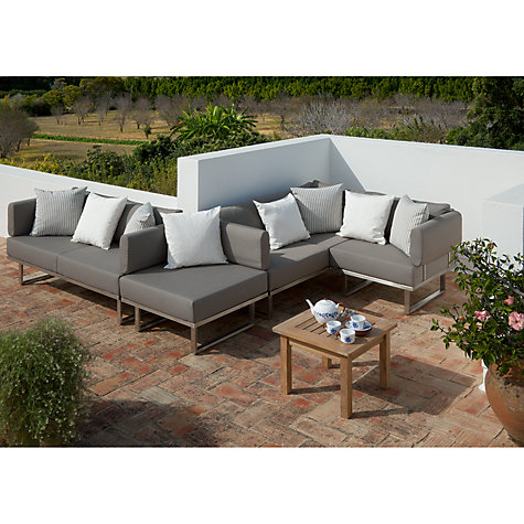 Buy Barlow Tyrie Mercury Deep Seating Left Module Online at johnlewis.com