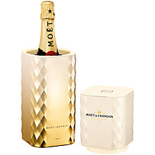 Buy Moët & Chandon Brut Impérial Golden Glimmer Champagne and Tin, 75cl Online at johnlewis.com
