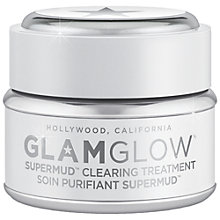 Buy GLAMGLOW® Supermud Clearing Treatment, 30ml Online at johnlewis.com