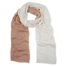 Buy Planet Ombre Scarf, Multi Light Online at johnlewis.com