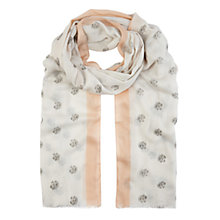 Buy Planet Spot Print Scarf, Multi Light Online at johnlewis.com