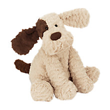 Buy Jellycat Fuddlewuddle Patch Puppy, Medium Online at johnlewis.com