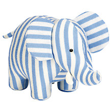 Buy Jellycat Elliott Elephant Chime, Blue/White Online at johnlewis.com
