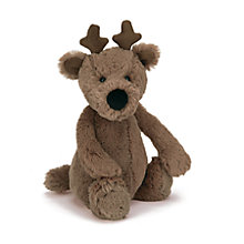 Buy Jellycat Bashful Reindeer, Medium Online at johnlewis.com
