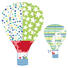 Buy Roommates Giant Hot Air Balloon Wall Stickers, Multi Online at johnlewis.com
