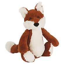 Buy Jellycat Bashful Fox Plush, Medium Online at johnlewis.com