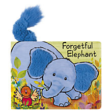 Buy Jellycat Forgetful Elephant Book Online at johnlewis.com