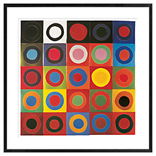 Buy Sir Terry Frost - Orchard Tambourine Framed Print, 72 x 72cm Online at johnlewis.com