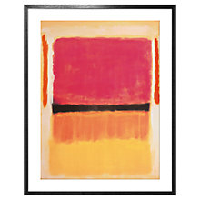 Buy Mark Rothko - Untitled 1949 Framed Print, 92 x 77cm Online at johnlewis.com