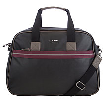 Buy Ted Baker Ervin Webbing Holdall, Black Online at johnlewis.com